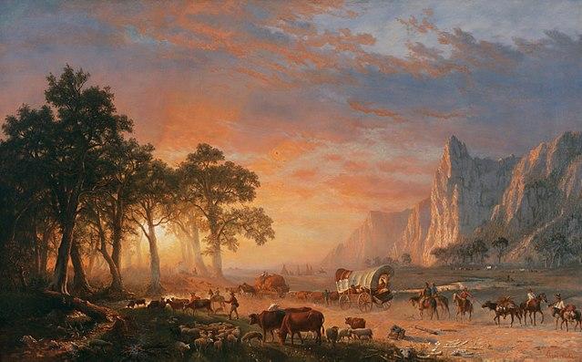 bierstadt emigrants