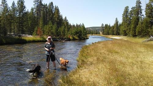 me wading nez perce river 2